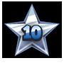 Level 10 star