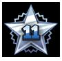 Level 11 star