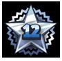 Level 12 star