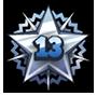 Level 13 star