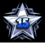 Level 15 star