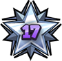 Level 17 star