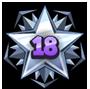 Level 18 star