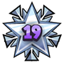 Level 19 star