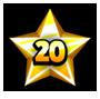 Level 20 star