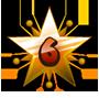 Level 6 star