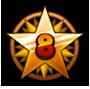 Level 8 star