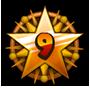 Level 9 star