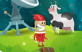 lost astromaut flash game
